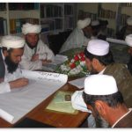Afghan Imams learning about women's rights in Islam