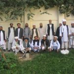 Afghan Mullahs and Imams posing for the camera